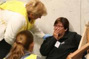 Hersenletsel en gekneusde ribben door val van trap