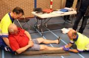 Stabiliseren van een gebroken been